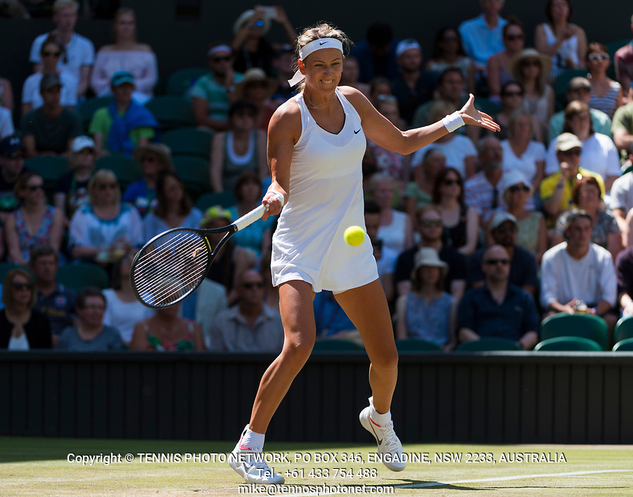 VICTORIA AZARENKA (BLR)<br /> <br /> TENNIS - THE CHAMPIONSHIPS - WIMBLEDON- ALL ENGLAND LAWN TENNIS AND CROQUET CLUB - ATP - WTA -ITF - WIMBLEDON-SW19, LONDON, GREAT  BRITAIN- 2017  <br /> <br /> <br /> &copy; TENNIS PHOTO NETWORK