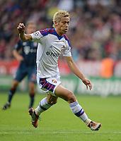 FUSSBALL   CHAMPIONS LEAGUE   SAISON 2013/2014   Vorrunde FC Bayern Muenchen - ZSKA Moskau       17.09.2013 Keisuke Honda (ZSKA Moskau)