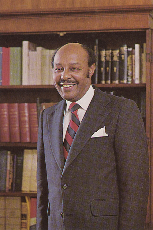 UNITED STATES: File photo - Rep. Louis Stokes (D-Ohio.), a founding member of the Congressional Black Caucus. (Photo courtesy of William Clay, Sr.).