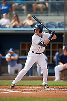 Charlotte Stone Crabs Russ Olive (34) during a Florida State League game against the Palm Beach Cardinals on April 14, 2019 at Charlotte Sports Park in Port Charlotte, Florida.  Palm Beach defeated Charlotte 5-3.  (Mike Janes/Four Seam Images)