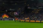 09.10.2019, Signal Iduna Park, Dortmund, GER, FSP, LS, Deutschland (GER) vs Argentinien (ARG)<br /> <br /> DFB REGULATIONS PROHIBIT ANY USE OF PHOTOGRAPHS AS IMAGE SEQUENCES AND/OR QUASI-VIDEO.<br /> <br /> im Bild / picture shows<br /> Feature Stadion Serge Gnabry (Deutschland / GER #20) Monitor<br /> <br /> <br /> während Freundschaftsspiel  Deutschland gegen Argentinien   in Dortmund  am 09.10..2019,<br /> <br /> Foto © nordphoto / Kokenge