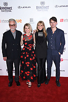 Trevor Eve, Alice Eve, Sharon Maughan and director, Jack Eve<br /> arriving for the World premiere of &quot;Bees Make Honey&quot; at the Vue West End, Leicester Square, London<br /> <br /> <br /> &copy;Ash Knotek  D3314  23/09/2017