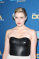 BEVERLY HILLS, CA - FEBRUARY 3: Greta Gerwig at the 70th Annual DGA Awards at The Beverly Hilton Hotel in Beverly Hills, California on February 3, 2018. <br /> CAP/MPI/FS<br /> &copy;FS/MPI/Capital Pictures