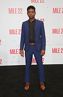 "9 August 2018-  Westwood, California - RJ Cyler. Premiere Of STX Films' ""Mile 22"" held at The Regency Village Theatre. Photo Credit: Faye Sadou/AdMedia"