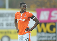 Blackpool's Joe Dodoo<br /> <br /> Photographer Kevin Barnes/CameraSport<br /> <br /> Emirates FA Cup First Round - Exeter City v Blackpool - Saturday 10th November 2018 - St James Park - Exeter<br />  <br /> World Copyright &copy; 2018 CameraSport. All rights reserved. 43 Linden Ave. Countesthorpe. Leicester. England. LE8 5PG - Tel: +44 (0) 116 277 4147 - admin@camerasport.com - www.camerasport.com