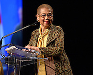 Washington, DC - January 2, 2015: District of Columbia Congressional Delegate Eleanor Holmes Norton speaks during the 2014 inauguration ceremony held at the Washington Convention Center, January 2, 2015. .   (Photo by Don Baxter/Media Images International)