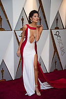 Blanco Blanca arrives on the red carpet of The 90th Oscars&reg; at the Dolby&reg; Theatre in Hollywood, CA on Sunday, March 4, 2018.<br /> *Editorial Use Only*<br /> CAP/PLF/AMPAS<br /> Supplied by Capital Pictures