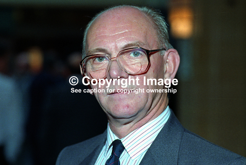 Jack Thompson, MP, Labour Party, UK, taken annual conference, October 1992. 19921019JT..Copyright Image from Victor Patterson, 54 Dorchester Park, Belfast, UK, BT9 6RJ..Tel: +44 28 9066 1296.Mob: +44 7802 353836.Voicemail +44 20 8816 7153.Skype: victorpattersonbelfast.Email: victorpatterson@me.com.Email: victorpatterson@ireland.com (back-up)..IMPORTANT: If you wish to use this image or any other of my images please go to www.victorpatterson.com and click on the Terms & Conditions. Then contact me by email or phone with the reference number(s) of the image(s) concerned.