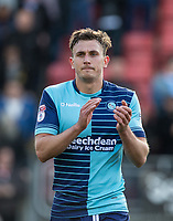Will De Havilland of Wycombe Wanderers after the Sky Bet League 2 match between Leyton Orient and Wycombe Wanderers at the Matchroom Stadium, London, England on 1 April 2017. Photo by Andy Rowland.