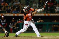 Carlos Rodrigez,durante el tercer juego de la serie de el partido Naranjeros de Hermosillo vs Venados de Mazatlan Sonora en el Estadio Sonora. 10 noviembre 2013. Liga Mexicana del Pacifico (MLP)