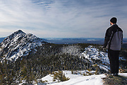 Mount Chocorua from Middle Sister Trail in the White Mountains, New Hampshire USA.