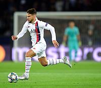 6th November 2019, Paris France; UEFA Champions league football, Paris St German versus Brugges;   Juan Bernat PSG