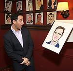 Santino Fontana during the Santino Fontana portrait unveiling at Sardi's on May 21, 2019 in New York City.