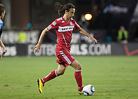 The Chicago Fire defeated the San Jose Earthquakes 3-0 at Buck Shaw Stadium in Santa Clara, California on September 29th, 2010.