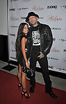 WEST HOLLYWOOD, CA. - October 12: Evan Seinfeld (R) and Lupe Fuentes arrive at the opening celebration for Philippe West Hollywood on October 12, 2009 in Los Angeles, California.