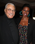 James Earl Jones & Condola Rashad.Behind the Scenes at the 2012 Tony Award-Meet The Nominees Press Reception at Millennium Broadway Hotel on May 2, 2012 in New York City. © Walter McBride/WM Photography .