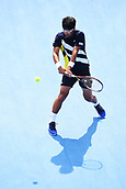 11th January 2018, ASB Tennis Centre, Auckland, New Zealand; ASB Classic, ATP Mens Tennis;  Hyeon Chung (KOR) during the ASB Classic ATP Men's Tournament Day 4 Quarter Finals