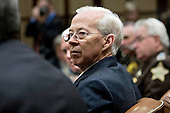 Dana Boente, acting U.S. attorney general, listens during a county sheriff listening session with U.S. President Donald Trump, not pictured, in the Roosevelt Room of the White House in Washington, D.C., U.S., on Tuesday, Feb. 7, 2017. The Trump administration will return to court Tuesday to argue it has broad authority over national security and to demand reinstatement of a travel ban on seven Muslim-majority countries that stranded refugees, triggered protests and handed the young government its first crucial test. <br /> Credit: Andrew Harrer / Pool via CNP
