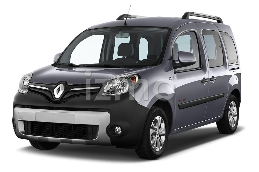 Front three quarter view of a 2013 Renault Kangoo Extrem Mini MPV