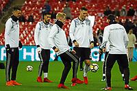 Sandro Wagner (Deutschland Germany), Emre Can (Deutschland Germany), Julian Brandt (Deutschland Germany), Niklas Suele (Deutschland Germany) - 10.11.2017: England vs. Deutschland, Freundschaftsspiel, Wembley Stadium