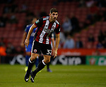 Ched Evans of Sheffield Utd during the Carabao Cup, second round match at Bramall Lane, Sheffield. Picture date 22nd August 2017. Picture credit should read: Simon Bellis/Sportimage