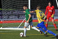 Action from the Central League football match between Wairarapa United and Western Suburbs at Memorial Park in Masterton, New Zealand on Saturday, 4 May 2019. Photo: Dave Lintott / lintottphoto.co.nz