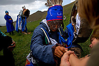 "Rowan, a five-year-old autistic child, visits a shaman with his parents during a horseback expedition across Mongolia. Rowan, who has been nicknamed ""The Horse Boy"", embarked on a therapeutic journey of discovery with his parents to visit a succession of shaman healers in one of the most remote regions in the world. Following Rowan's positive response to a neighbour's horse, Betsy, and some reaction to treatment by healers, Rowan's parents hoped that the Mongolian shamanistic rituals along the route and the prolonged contact with horses would help to unlock their son's autism and assist his development.."