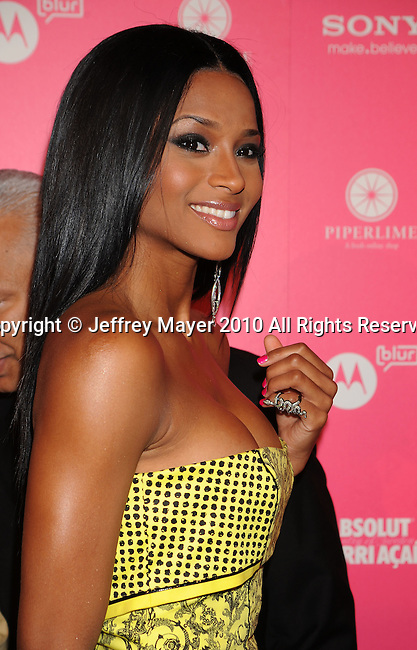 HOLLYWOOD, CA. - April 22: Ciara attends the Us Weekly Hot Hollywood Style Issue Event at Drai's Hollywood on April 22, 2010 in Hollywood, California.
