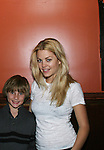 """One Life To Live's Carmen LoPorto """"Jack Manning"""" in this film and poses with castmate Bree Williamson who came to see the screening of independent film The Day The Bread Turned Green on November 11, 2008 at Blondies, New York City, NY. (Photo by Sue Coflin/Max Photos)"""