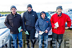 Denny and Pauidi Moriarty with Louity O'Connor and Tony Horgan at the Ballyduff coursing on Sunday