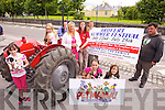 GETTING FESTIVE: Gearing up for the annual Ardfert Summer Festival which takes place next weekend, front, l-r: Ali Cavanagh, Lisa Cavanagh, Orla Hussey. Back l-r: Clodagh Kirby, John McElligott, Siobhan Hussey, Linda Cavanagh, Martin Woulfe, Tommy Long..