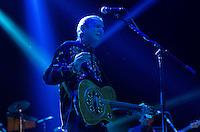 SÃO PAULO, SP, 15.11.2014 - SHOW ZÉ RAMALHO: O cantor e compositor Zé Ramalho durante durante apresentação da turnê TOUR 2014, na noite deste sabado (15) no Citibank Hall em São Paulo. (Foto: Levi Bianco - Brazil Photo Press)