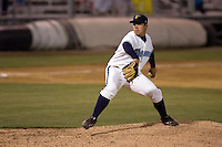 August 4, 2009: Everett AquaSox left-handed pitcher Jose Rios throws against the Boise Hawks in a Northwest League game at Everett Memorial Stadium in Everett, Washington.