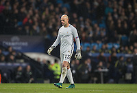 Goalkeeper Wilfredo Caballero of Manchester City during the UEFA Champions League GROUP match between Manchester City and Celtic at the Etihad Stadium, Manchester, England on 6 December 2016. Photo by Andy Rowland.