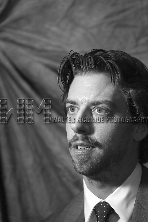 Christian Borle attends the 2015 Tony Awards Meet The Nominees Press Junket at the Paramount Hotel on April 29, 2015 in New York City.