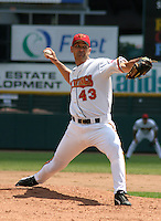 July 14, 2003:  Matt Carnes of the Rochester Red Wings during a game at Frontier Field in Rochester, New York.  Photo by:  Mike Janes/Four Seam Images