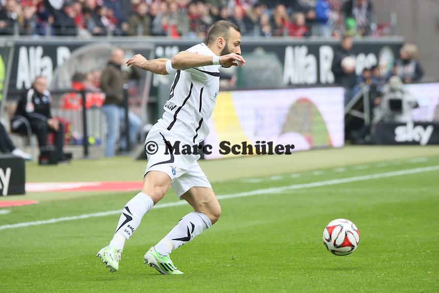 Süleyman Koc (Paderborn)  - Eintracht Frankfurt vs. SC Paderborn 07, Commerzbank Arena