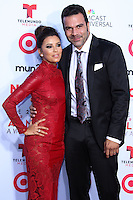 PASADENA, CA - SEPTEMBER 27: Actress Eva Longoria and Actor Ricardo Antonio Chavira arrive at the 2013 NCLR ALMA Awards held at Pasadena Civic Auditorium on September 27, 2013 in Pasadena, California. (Photo by Xavier Collin/Celebrity Monitor)