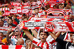 Sporting de Gijon's supporters during La Liga match. September 24,2016. (ALTERPHOTOS/Acero)