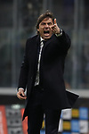 Antonio Conte Head coach of Inter reacts during the Coppa Italia match at Giuseppe Meazza, Milan. Picture date: 12th February 2020. Picture credit should read: Jonathan Moscrop/Sportimage