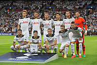 Pre match team photo during the UEFA Champions League Group stage match between Tottenham Hotspur and Monaco at White Hart Lane, London, England on 14 September 2016. Photo by Andy Rowland.