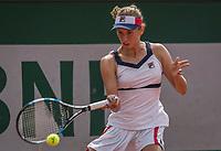 Paris, France, 31 May, 2017, Tennis, French Open, Roland Garros, Elise Bertens (BEL)<br /> Photo: Henk Koster/tennisimages.com