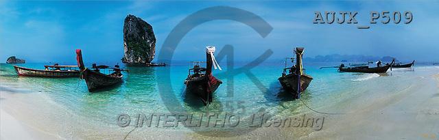 Dr. Xiong, LANDSCAPES, panoramic, photos, Krabi, Thailand(AUJXP509,#L#)