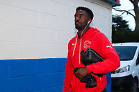 Jordy Hiwula during the Sky Bet League 1 match between Rochdale and Fleetwood Town at Spotland Stadium, Rochdale, England on 20 March 2018. Photo by Thomas Gadd.
