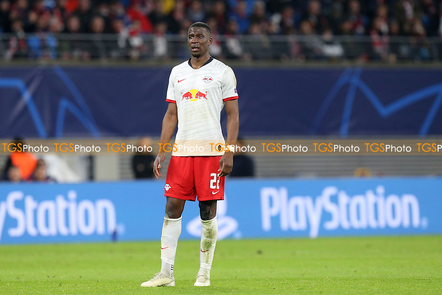 Nordi Mukiele of RB Leipzig during RB Leipzig vs Tottenham Hotspur, UEFA Champions League Football at the Red Bull Arena on 10th March 2020
