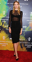 NEW YORK CITY, NY, USA - JUNE 16: Model Lily Donaldson arrives at the 2014 Fragrance Foundation Awards held at the Alice Tully Hall, Lincoln Center on June 16, 2014 in New York City, New York, United States. (Photo by Celebrity Monitor)