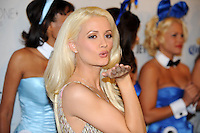 "Holly Madison, star of ""The Girls Next Door"" poses on the red carpet at Playboy's ninth annual ""Super Saturday Night""  party in at Playboy's Desert Oasis and Resort in Chandler, Arizona Saturday February 2, 2008.   (Photo by Alan Greth)"