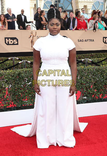 29 January 2017 - Los Angeles, California - Danielle Brooks. 23rd Annual Screen Actors Guild Awards held at The Shrine Expo Hall. <br /> CAP/ADM/FS<br /> &copy;FS/ADM/Capital Pictures