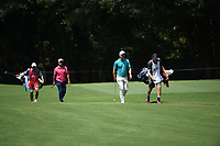 Hideki Matsuyama (JPN) and Paul Casey (ENG) during the first round of The Tour Championship, East Lake Golf Club, Atlanta, Atlanta, USA. 22/08/2019.<br /> Picture Ken Murray / Golffile.ie<br /> <br /> All photo usage must carry mandatory copyright credit (© Golffile | Ken Murray)