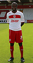 Anthony Grant of Stevenage. Stevenage FC photoshoot -  Lamex Stadium, Stevenage . - 16th August, 2012. © Kevin Coleman 2012